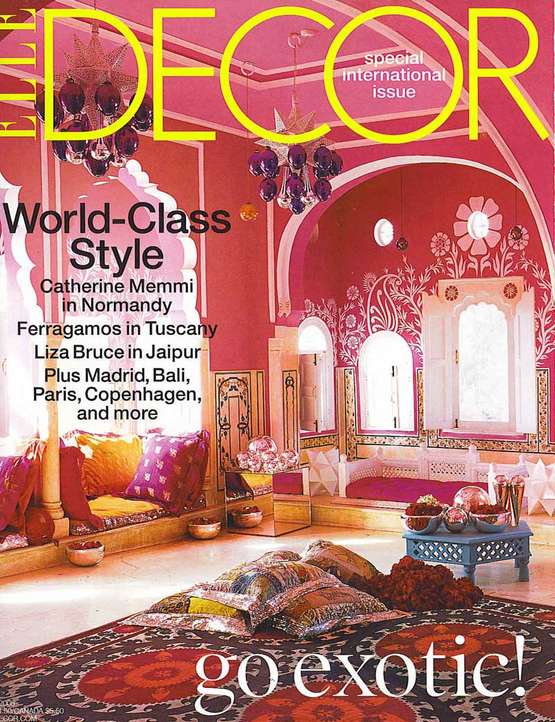 elle decor article 2005